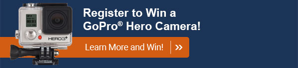 Register to Win a GoPro Hero Camera!
