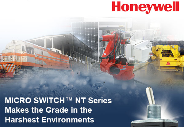 MICRO SWITCH NT Series Makes the Grade in the Harshest Environments