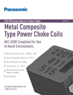 Panasonic ETQ-PM Series Inductor Product Guide | TTI, Inc