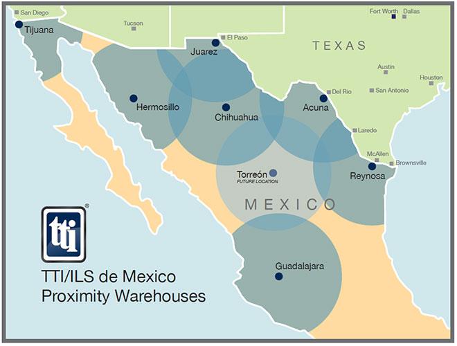 Mexico Proximity Warehouses | TTI, Inc